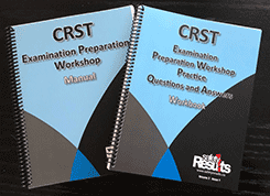 Bundle – CRST Examination Preparation Workshop Manual and Workshop Practice Examination Questions & Answers Workbook