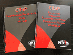 CRSP Examination Preparation Knowledge Gap Analysis Questions & Answers Workbooks